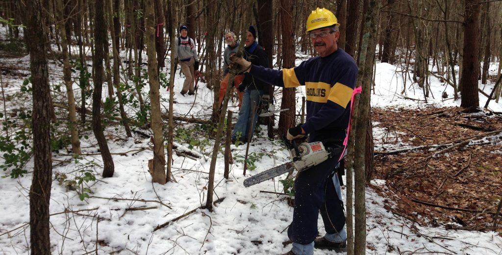 SABA Trail Work Day