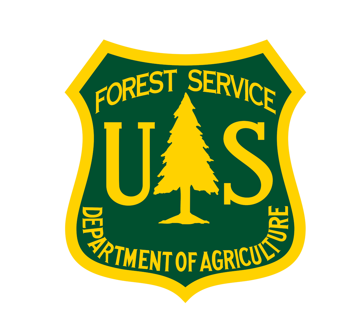 Department of Agriculture - Forest Service Logo