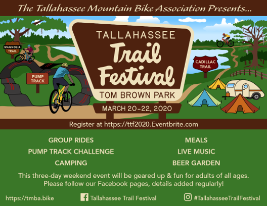Tallahassee Trail Festival is Still a GO!!!